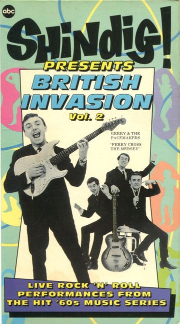 VARIOUS - SHINDIG PRESENTS BRITISH INVASION VOL. 2 - Video Cassette