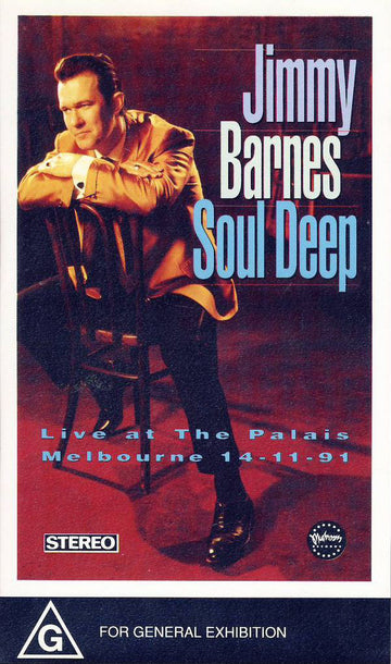 JOHNNY BARNES - SOUL DEEP LIVE AT THE PALAIS MELBOURNE - Video Cassette