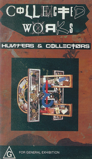 HUNTERS & COLLECTORS - COLLECTED WORKS - Video Cassette
