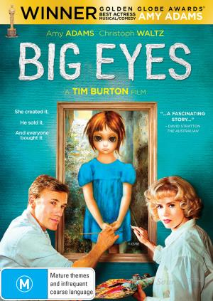 AMY ADAMS - BIG EYES - Video Used BluRay