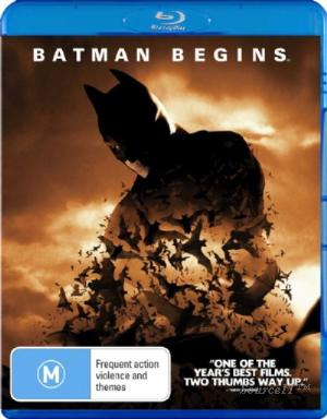 CHRISTIAN BALE - BATMAN BEGINS TWO DISC EDITION [EX RENTA - Video X Rental DVD