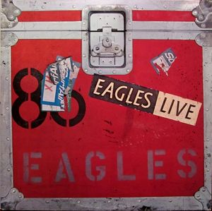 EAGLES - LIVE (DAMAGED COVER)