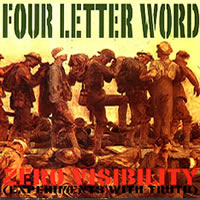 FOUR LETTER WORD - ZERO VISIBILITY (CD)