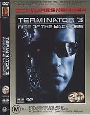 ARNOLD SCHWARZENEGGER - TERMINATOR 3 - RISE OF THE MACHINES - Video Used DVD
