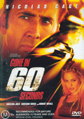 NICHLOS CAGE - GONE IN 60 SECONDS [EX RENTAL]