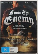 MCKINNEY, SHEAUN - KNOW THY ENEMY [EX RENTAL] (Used DVD Ex Rental)