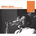 ALBERT AYLER - RECORDED IN STOCKHOLM, OCTOBER 25TH, 196 (Vinyl LP) - Vinyl New