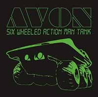 AVON - SIX WHEELED ACTION MAN TANK (WHITE VINYL - Vinyl New