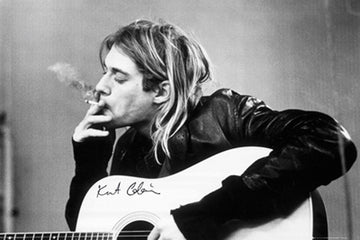 COBAIN, KURT - POSTER - SMOKING - 61x91.5cm (Poster) - Other Posters