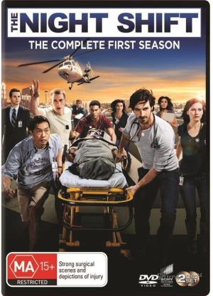 EOIN MACKEN - NIGHT SHIFT, THE - COMPLETE SEASON 1