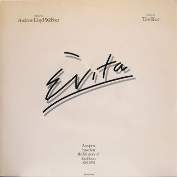 SOUNDTRACK - EVITA - Vinyl Pre-Loved