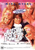 MOVIE DVD - AUSTIN POWERS  - INTERNATIONAL MAN