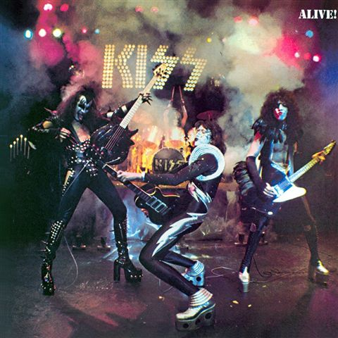 KISS - ALIVE (CD)