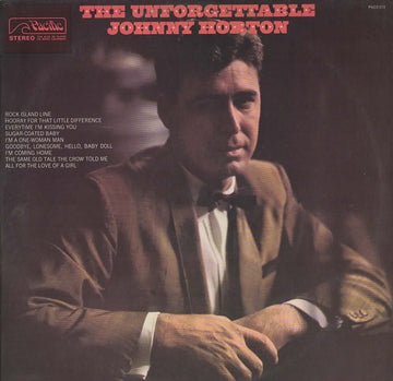 JOHNNY HORTON - UNFORGETTABLE, THE