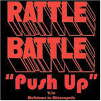 RATTLE BATTLE - PUSH UP - CD New Single