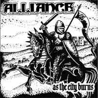 ALLIANCE - AS THE CITY BURNS - Vinyl New