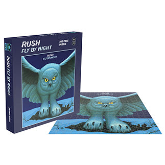 RUSH - FLY BY NIGHT (500 PIECE JIGSAW PUZZLE)
