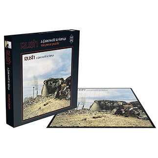 RUSH - A FAREWELL TO KINGS (500 PIECE JIGSAW PUZZLE)