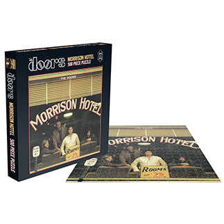 DOORS, THE - MORRISON HOTEL (500 PIECE JIGSAW PUZZLE)