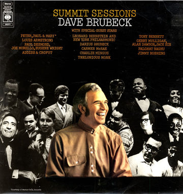DAVE BRUBECK - SUMMIT SESSIONS - Vinyl Pre-Loved