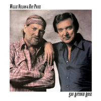 WILLIE & RAY PRICE NELSON - SAN ANTONIO ROSE - Vinyl Pre-Loved