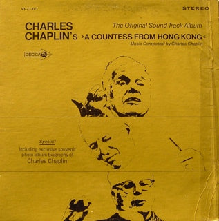 SOUNDTRACK - CHARLES CHAPLIN'S A COUNTESS FROM HONG K