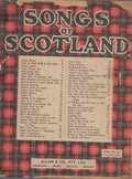 VARIOUS - SONGS OF SCOTLAND SHEET MUSIC