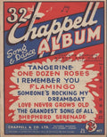 VARIOUS - 32nd CHAPPELL ALBUM SHEET MUSIC