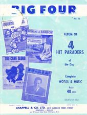 VARIOUS - BIG FOUR NO. 10 SHEET MUSIC