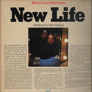 THAD JONES - NEW LIFE