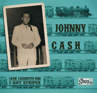CASH, JOHNNY - LOVIN' LOCOMOTIVE MAN / I GOT STRIPES (7 inch Vinyl) - Vinyl New