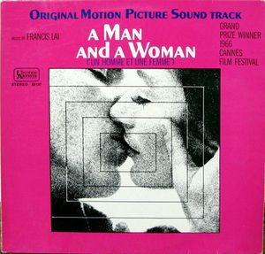 SOUNDTRACK - A MAN AND A WOMAN - Vinyl Pre-Loved