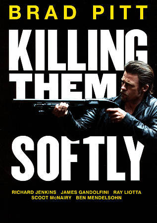 BRAD PITT - KILLING THEM SOFTLY [Region 1] - Video Used DVD