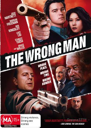BRUCE WILLIS - WRONG MAN, THE - (2006 VERSION) [EX RENT - Video X Rental DVD