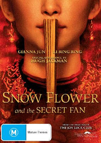 RUSSELL WONG - SNOW FLOWER AND THE SECRET FAN [EX RENTAL] - Video X Rental DVD