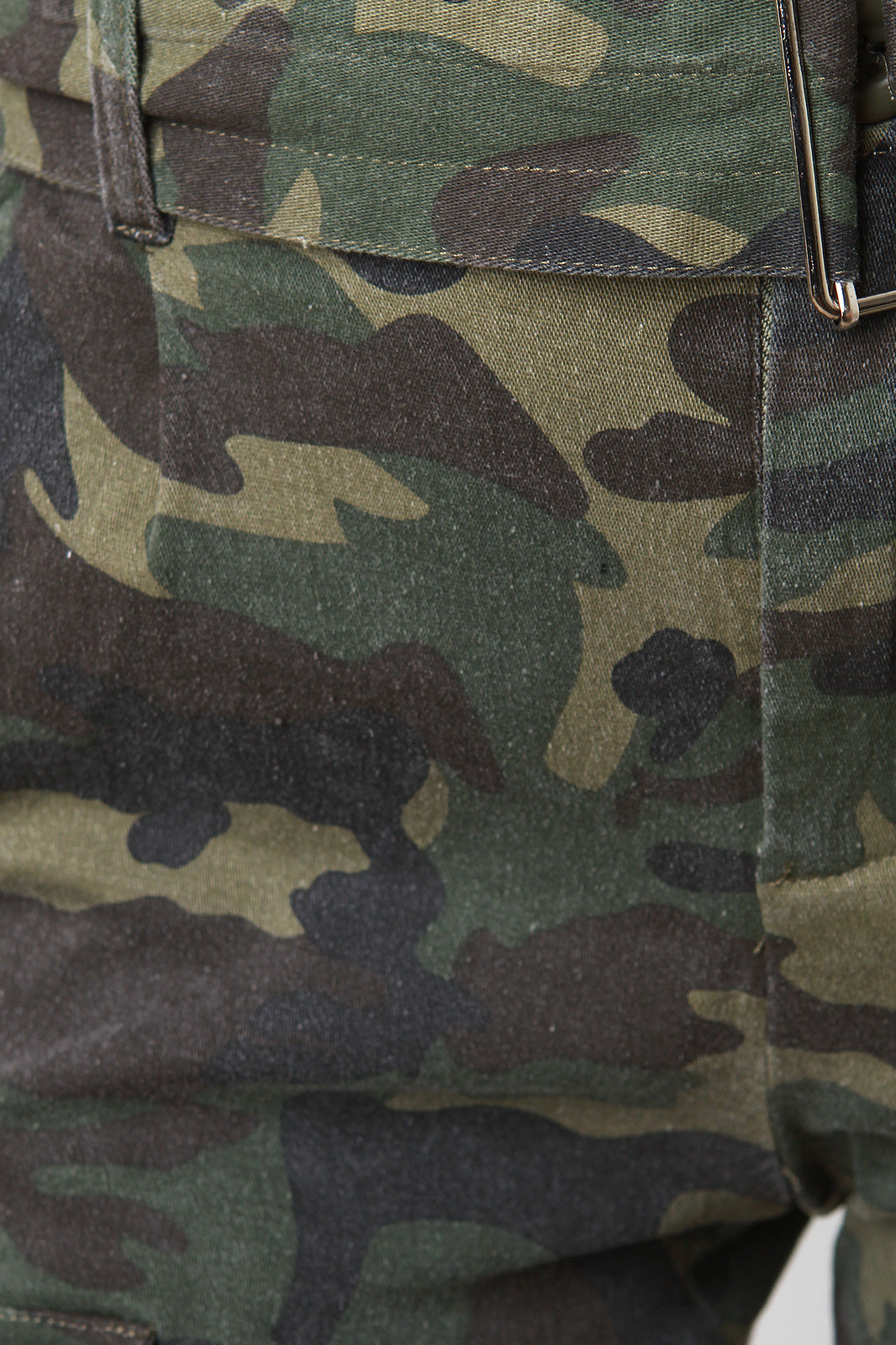 Skinny Camouflage High Rise Pants