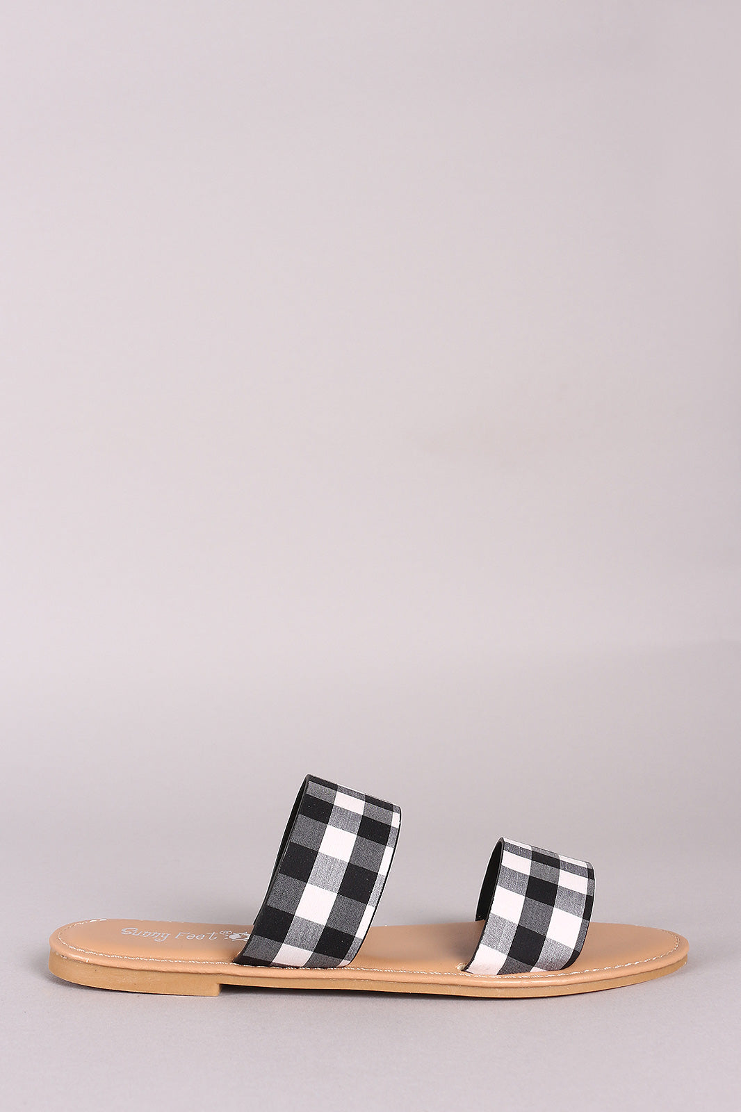 Polka dot double band Sandal