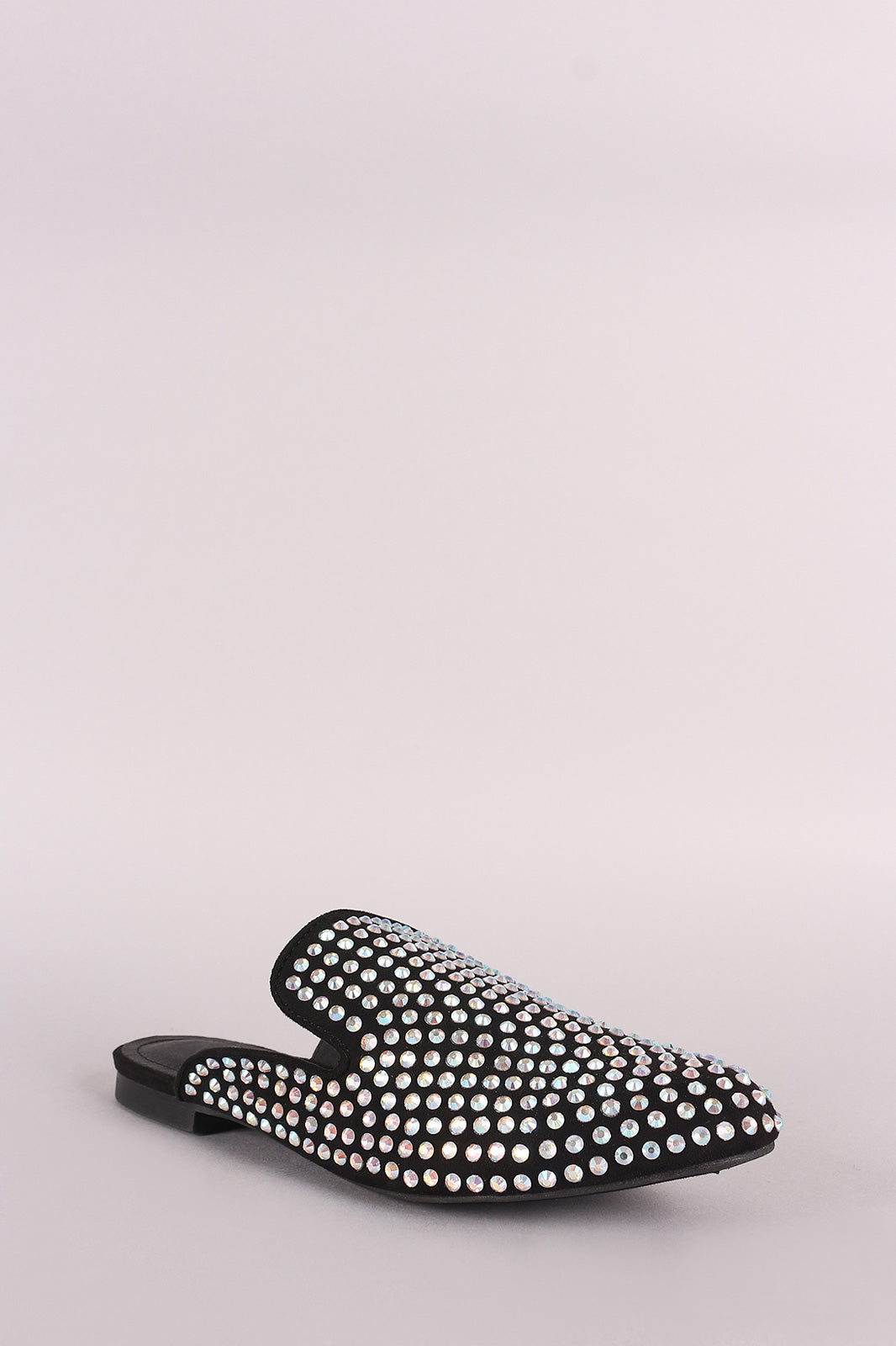 Rhinestone Embellished Loafer