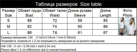 This Autumn Sweater Vneck Dress Size Chart