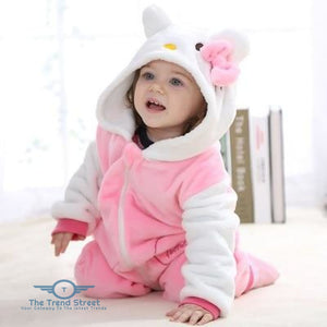 Adorable Baby Winter Romper Hello Kitty / 3M Baby Romper