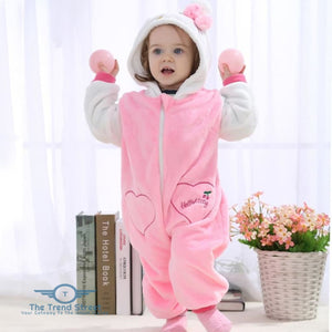 Adorable Baby Winter Romper Baby Romper