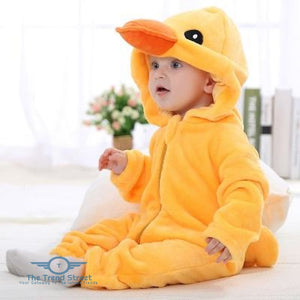 Adorable Baby Winter Romper Little Duck / 3M Baby Romper