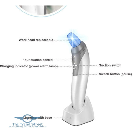 Image of Blackhead Remover Pore Cleanser Vacuum