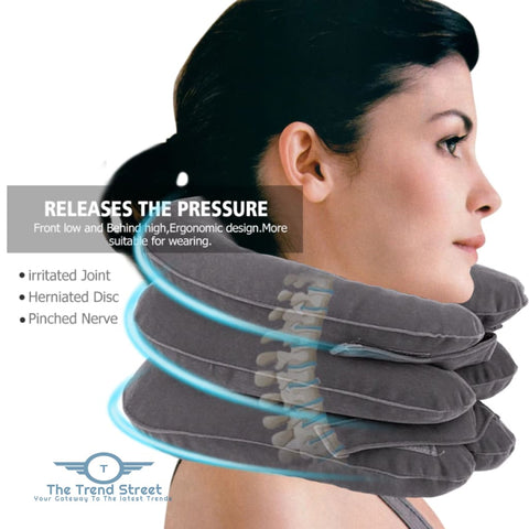 Image of Cervical Neck Traction Therapy Cervical Neck Traction Apparatus