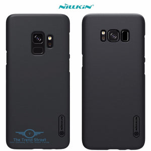 Frosted Shield Back Cover Samsung Case for Galaxy S9 S8 Plus S4 Phone Accessories