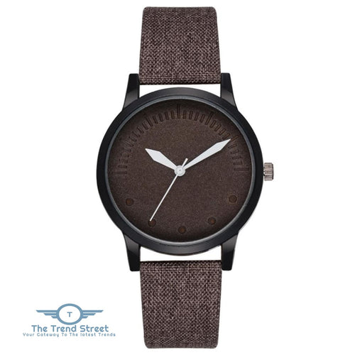 GAIETY G470 Mens Casual Watch BROWN
