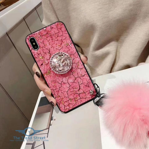 Glitter Crystal Case For Samsung & iPhone Phone Case
