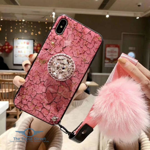 Image of Glitter Crystal Case For Samsung & iPhone Phone Case