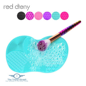 Makeup Brush Cleaning Mat Makeup brush cleaning mat