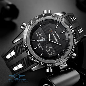 Mens Military Chronograph Watch watch